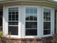 Vinyl replacement windows installed